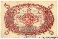5 Francs Cabasson bleu GUYANE  1947 P.01es SPL