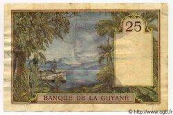 25 Francs GUYANE  1941 P.07 TTB