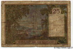 25 Francs GUYANE  1942 P.07 TB