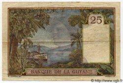 25 Francs GUYANE  1942 P.07 TTB+