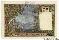 25 Francs GUYANE  1942 P.07 SPL+