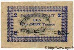 2 Francs GUYANE  1941 P.11Cb TTB