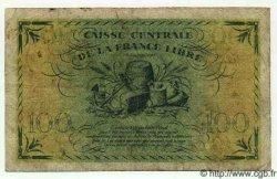 100 Francs GUYANE  1944 P.16 TB