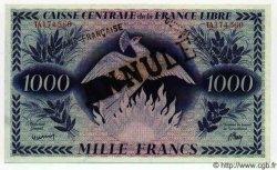 1000 Francs GUYANE  1941 P.16A NEUF
