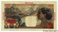 100 Francs La Bourdonnais GUYANE  1949 P.23 SUP+