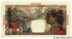 100 Francs GUYANE  1949 P.23s NEUF