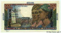 500 Francs GUYANE  1949 P.24s NEUF