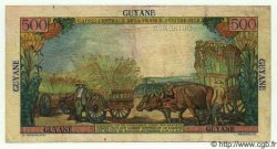 500 Francs Pointe à Pitre GUYANE  1949 P.24 TTB