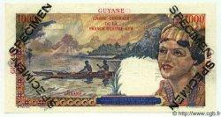 1000 Francs GUYANE  1949 P.25s NEUF