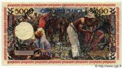 5000 Francs GUYANE  1949 P.28s pr.NEUF