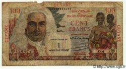 1 NF sur 100 Francs La Bourdonnais GUYANE  1961 P.29 B+