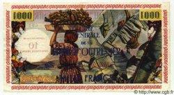10 NF sur 1000 Francs GUYANE  1961 P.31 pr.NEUF