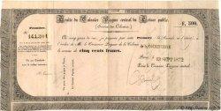 500 Francs INDOCHINE FRANÇAISE  1872 P.-- TTB+