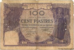 100 Piastres INDOCHINE FRANÇAISE  1914 P.034 B