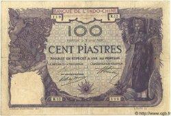 100 Piastres INDOCHINE FRANÇAISE  1919 P.034 pr.TTB