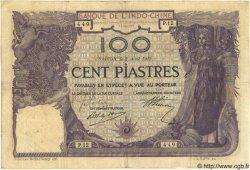 100 Piastres INDOCHINE FRANÇAISE  1919 P.034 TTB