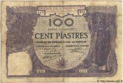100 Piastres INDOCHINE FRANÇAISE Saïgon 1919 P.039 TB