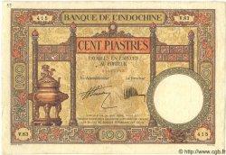 100 Piastres INDOCHINE FRANÇAISE  1931 P.051b TTB
