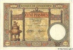 100 Piastres INDOCHINE FRANÇAISE  1939 P.051d SPL