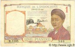 1 Piastre INDOCHINE FRANÇAISE  1932 P.054a TTB
