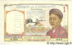 1 Piastre INDOCHINE FRANÇAISE  1932 P.054as pr.SPL