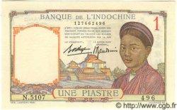 1 Piastre INDOCHINE FRANÇAISE  1936 P.054b NEUF
