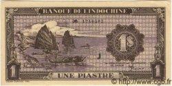 1 Piastre violet INDOCHINE FRANÇAISE  1943 P.060 NEUF