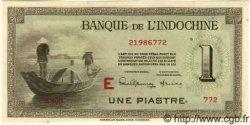 1 Piastre INDOCHINE FRANÇAISE  1945 P.076b SPL+