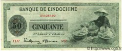 50 Piastres INDOCHINE FRANÇAISE  1945 P.077 TTB+