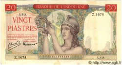 20 Piastres INDOCHINE FRANÇAISE  1949 P.081 TTB+ à SUP