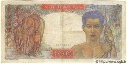 100 Piastres INDOCHINE FRANÇAISE  1949 P.082a TB+
