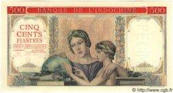 500 Piastres INDOCHINE FRANÇAISE  1951 P.083s NEUF