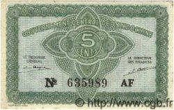 5 Cents INDOCHINE FRANÇAISE  1939 P.088a SPL+