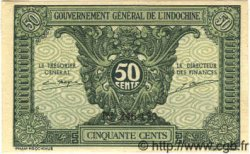 50 Cents INDOCHINE FRANÇAISE  1939 P.091 NEUF