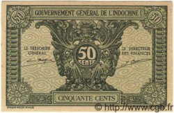 50 Cents INDOCHINE FRANÇAISE  1939 P.091 NEUF