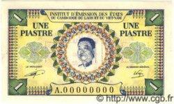1 Piastre / 1 Kip INDOCHINE FRANÇAISE  1952 P.099s SPL
