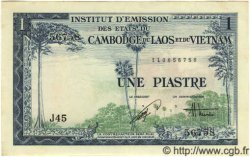 1 Piastre / 1 Dong INDOCHINE FRANÇAISE  1954 P.105 NEUF