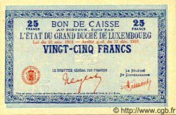 25 Francs LUXEMBOURG  1919 P.30a NEUF