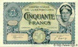50 Francs LUXEMBOURG  1932 P.38as SUP+