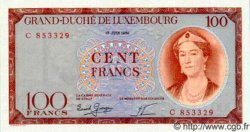 100 Francs LUXEMBOURG  1956 P.50 NEUF