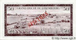 50 Francs LUXEMBOURG  1961 P.51s NEUF