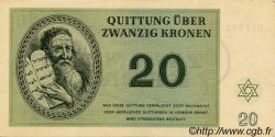 20 Kronen ISRAËL  1943 P.-- SUP+