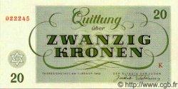 20 Kronen ISRAËL  1943 P.-- NEUF