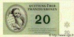 20 Kronen ISRAËL Terezin 1943 WWII. NEUF