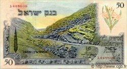 50 Lirot ISRAËL  1955 P.28b SUP+
