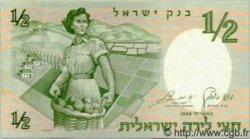 1/2 Lira ISRAËL  1958 P.29 NEUF