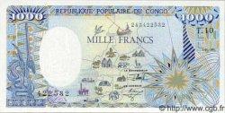 1000 Francs CONGO  1991 P.10c NEUF