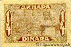 25 Para / 1/4  Dinar YOUGOSLAVIE  1921 P.013 pr.TTB