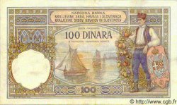 100 Dinara YOUGOSLAVIE  1920 P.022 TTB