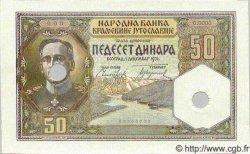 50 Dinara YOUGOSLAVIE  1931 P.028 NEUF